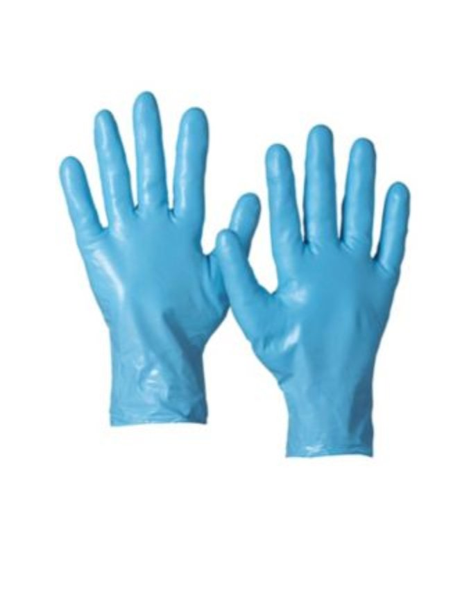Latex Protection Gloves Blu